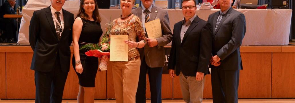 Zu den ersten Gratulanten zählten Markus Reichelt Vizepräsident des TRP, Thomas Rhinow Lehrwart des TRP, Uwe Weil 2. Vorsitzender des TanzZentrums Ludwigshafen sowie Nathalie Dres Sportwartin des TZ.